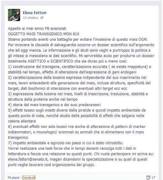 Elena Fattori M5S Mon810