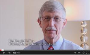 NIH drector Francis Collin in un'intervista con xx sull'importanza che OA abbia sulla diffusione dell'informazione scientifica